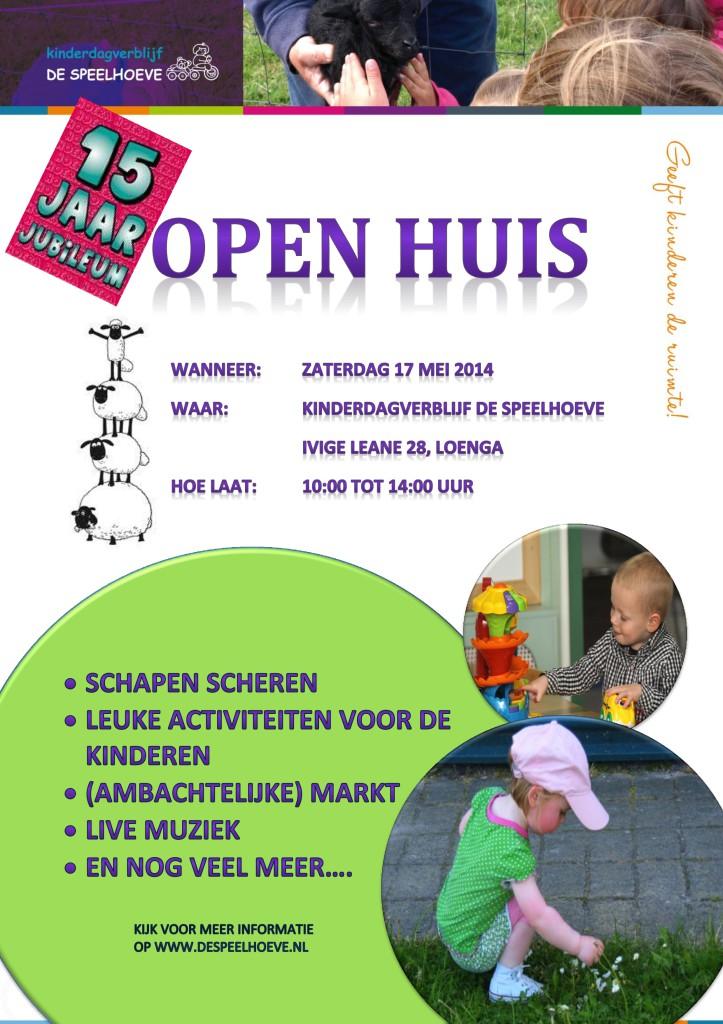 Open huis poster